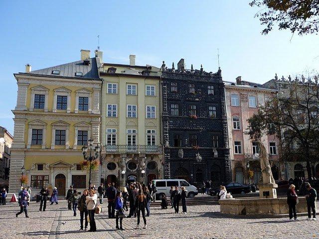 Львов. Площадь Рынок. Ратуша.