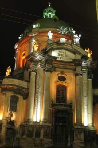 Львов. Доминиканский собор