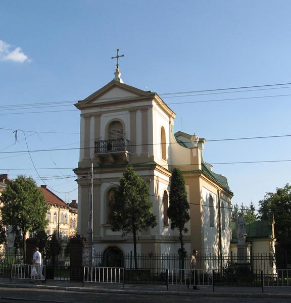 Львов. Костел Святых Петра и Павла