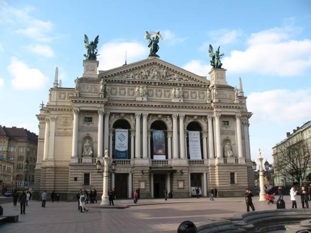 Львов. Оперный театр