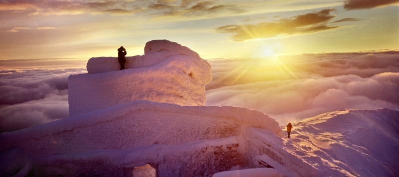 Cтарая обсерватория в Карпатах